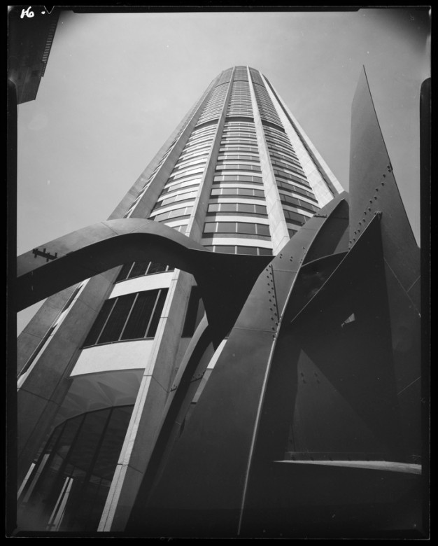 Harry Seidler's office and retail complex Australia Square in Sydney's CBD. Image courtesy of Sydney Architecture Festival.