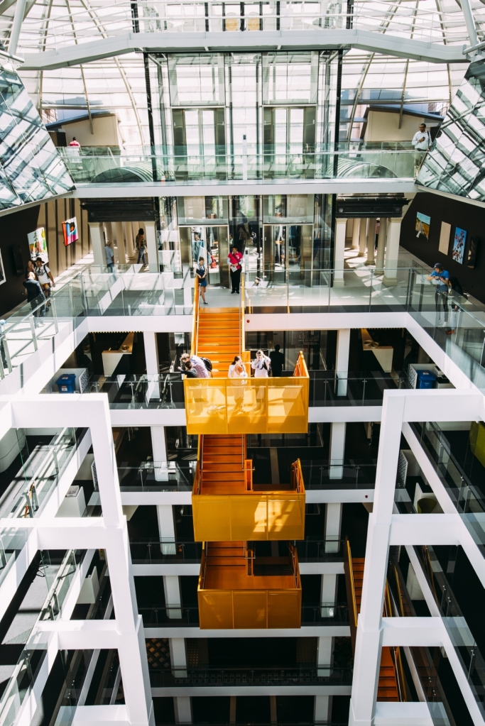 The atrium, 50 Martin Place, Image credit: Hayley Richardson/Sydney Open