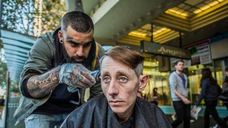 Image courtesy: The Streets Barber